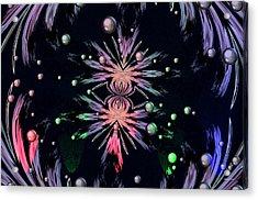 Abstract 014 Acrylic Print by Maria Urso