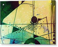 Abstract 209 Acrylic Print by Ann Powell