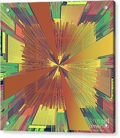 Abstract 4 Acrylic Print by Deborah Benoit