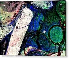 Abstract 56 Acrylic Print by John  Nolan