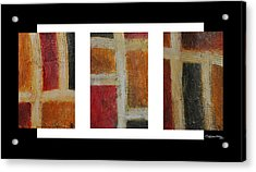 Abstract Collage 1 Acrylic Print by Xoanxo Cespon