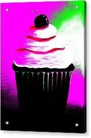 Abstract Cupcakes By Shawna Erback Acrylic Print by Shawna Erback