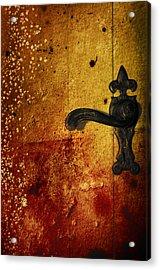 Abstract Door Acrylic Print by Svetlana Sewell