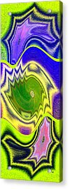 Abstract Fusion 157 Acrylic Print by Will Borden