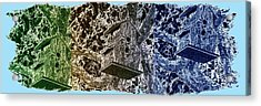 Abstract Fusion 160 Acrylic Print by Will Borden