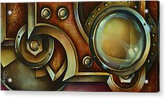 'access Denied' Acrylic Print by Michael Lang