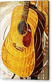 Acoustic On Stand Acrylic Print by Tilly Williams