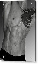 Adam 4 Acrylic Print by Mark Ashkenazi