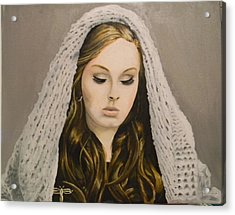 Adele Acrylic Print by Eric Barich