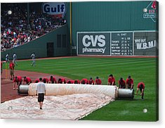 After The Rain Delay Acrylic Print by Mike Martin