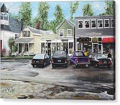 After The Rain Acrylic Print by Stuart B Yaeger