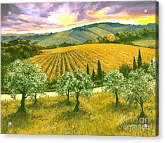 After The Storm Orig. For Sale Acrylic Print by Michael Swanson