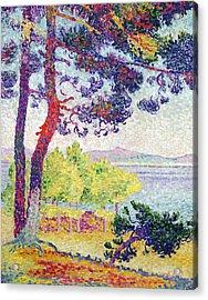 Afternoon At Pardigon Acrylic Print by Henri-Edmond Cross