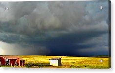 Afternoon Storm Acrylic Print by Ellen Heaverlo