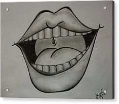 Ahhh... Acrylic Print by K Walker