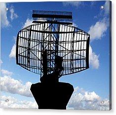 Air Traffic Control Radar Acrylic Print by Victor De Schwanberg
