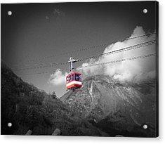 Air Trolley Acrylic Print by Naxart Studio