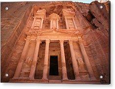 Al Khazneh (the Treasury), Petra, Jordan Acrylic Print by Joe & Clair Carnegie / Libyan Soup