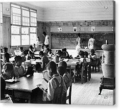Alabama: Schoolhouse, 1939 Acrylic Print by Granger