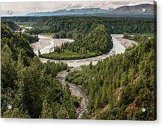 Alaska Railroad Two Acrylic Print by Josh Whalen