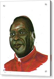 Albert Ndongmo Acrylic Print by Emmanuel Baliyanga