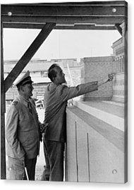 Albert Speer 1905-1981, Adolf Hitlers Acrylic Print by Everett