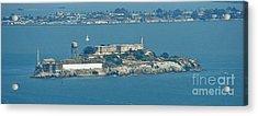 Alcatraz In April Acrylic Print by Suze Taylor