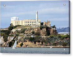 Alcatraz Island Acrylic Print by Luiz Felipe Castro