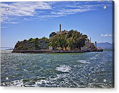Alcatraz Island San Francisco Acrylic Print by Garry Gay