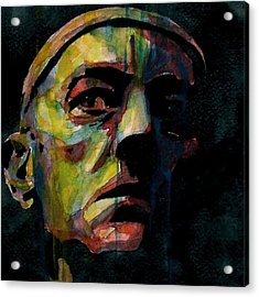 Alec Guinness Acrylic Print by Paul Lovering