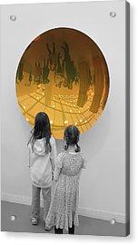 Aliens Acrylic Print by Nina Mirhabibi