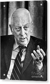 Alistair Cooke (1908-2004) Acrylic Print by Granger