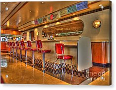 All American Diner 2 Acrylic Print by Bob Christopher