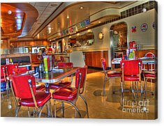 All American Diner 5 Acrylic Print by Bob Christopher