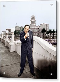 All The Kings Men, Broderick Crawford Acrylic Print by Everett