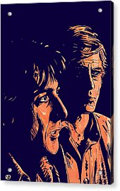 All The President's Men Acrylic Print by Giuseppe Cristiano