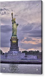 Allegory Of Liberty Acrylic Print by William Fields