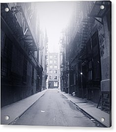 Alleyway Acrylic Print by William Andrew