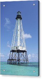 Alligator Reef Lighthouse Acrylic Print by Kevin Brant