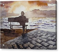 Alone... Acrylic Print by Vuong Anh Tuan