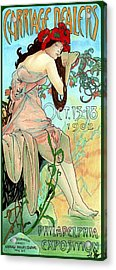 Alphonse Expo Acrylic Print by Lyle Brown