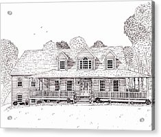 Al's House   Acrylic Print by Michelle Welles