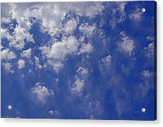 Alto Cumulus With Ice Acrylic Print by Mick Anderson