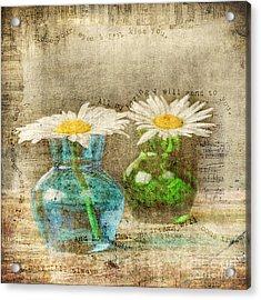 Always Acrylic Print by Darren Fisher