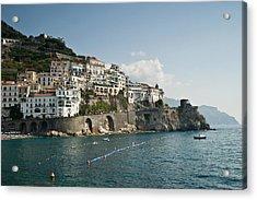 Amalfi Point Acrylic Print by Jim Chamberlain