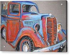 Amarillo Truck Acrylic Print by Barbara Richert