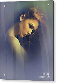 Amber Acrylic Print by Robert Foster
