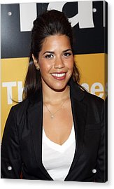 America Ferrera At A Public Appearance Acrylic Print by Everett