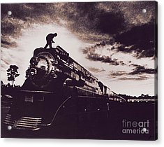 American Freedom Train Acrylic Print by Jim Wright