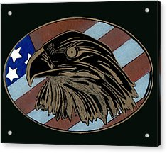 American Independence Day Acrylic Print by Jim Ross